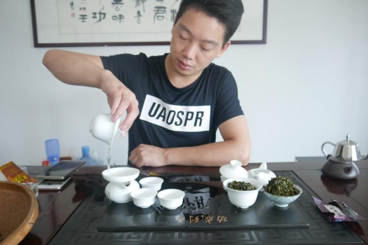 Chinese Tie Guan Yin Oolong Tea Anxi Long Juan